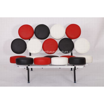 Customized for Adjustable Leather Sofa Replica marshmallow Leather Sofa export to Japan Exporter