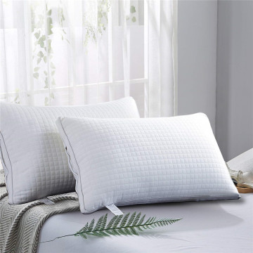 High quality white duck down feather home pillow