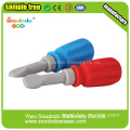 Screwdriver Shaped 3D Cute Eraser
