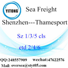 Shenzhen Port LCL Consolidation To Thamesport