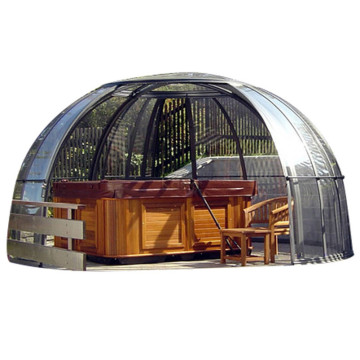 Metal Enclosure Outdoor Door County Hot Tub Roof