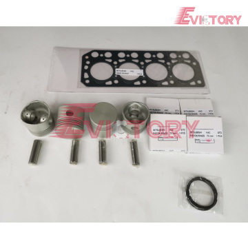 MITSUBISHI 4M40-T rebuild overhaul kit gasket bearing piston