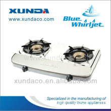 Apple shape coating gas stove with whirlwind burner