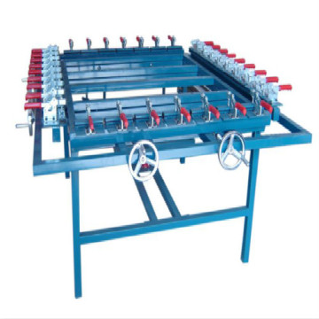 Economical silk screen mesh stretching machine