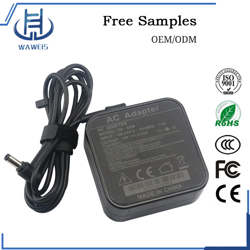 19V 3.42A Notebook adapter 65w for Asus