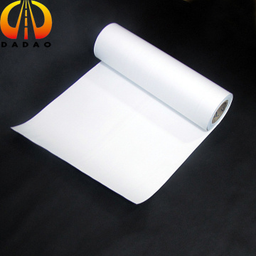 125 micron glossy white pet film