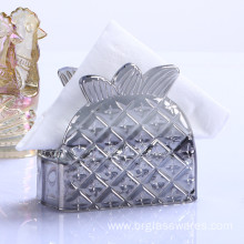 Best Quality for Paper Napkin Holder Pipeapple Shape Glass Napkin Holder export to Chad Manufacturers