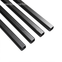 30X30mm carbon fiber octagonal tube with aluminum clamps