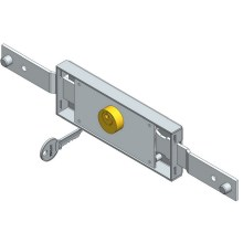 Cheapest Factory for Door Cylinder Lock Shifted bolt central rolling shutter lock supply to United States Exporter