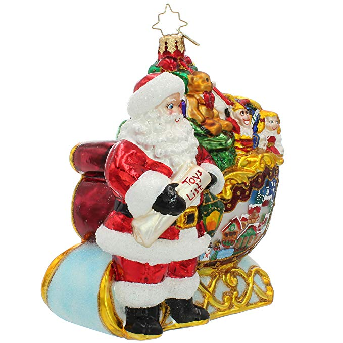 Christams Santa Claus Ornaments