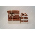 Wholesale Leather surface Gift Box