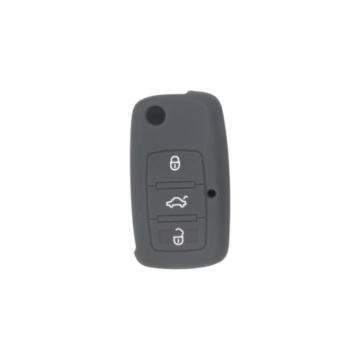Hot sale good quality for Supply Volkswagen Silicone Key Cover, VW Silicone Key Fob Cover, VW Silicone Key Case from China Manufacturer Cheap VW car silicone key cover export to Japan Exporter
