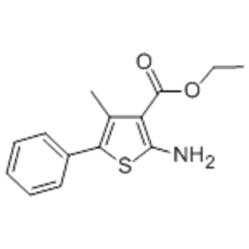 ETHYL 2-AMINO-4-METHYL-5-PHENYLTHIOPHENE-3-CARBOXYLATE CAS 4815-38-7