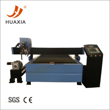 CNC pipe plasma cutting and drilling machine