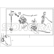 CARBURETOR For LONGJIA FORMULA Spare Part Top Quality