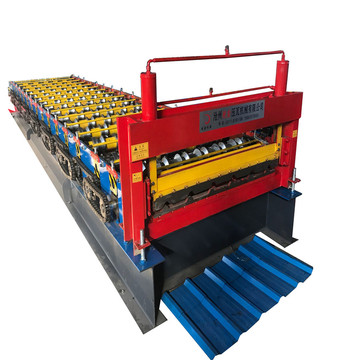 Building materials equipment of roofing machine