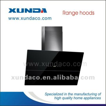 90cm Black Glass Kitchen Cooker Hood