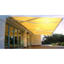 Retractable arms awning 2*1.5M Yellow