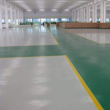 Industrial and commercial strength polyurea flooring