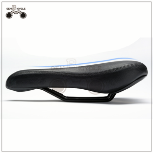 high quality leather mountain bike saddle mtb bicycle seat for sale