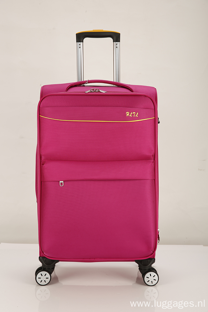 Fancy softside lightweight luggage