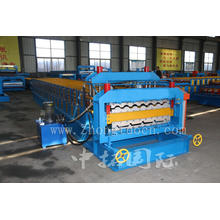 Automatic Double Deck Corrugated Roof Sheet Making Machine