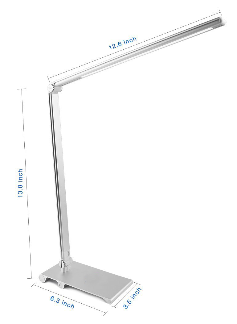 Sleek Desk Lamp Bedroom Hotel Table Lamp