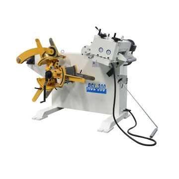 Leading for Combo Decoiler straightener Combo decoiler straightener machine supply to Kuwait Supplier