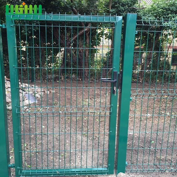 Good Quality PVC Coated Welded Gate Fence