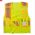 yellow mesh warning clothing