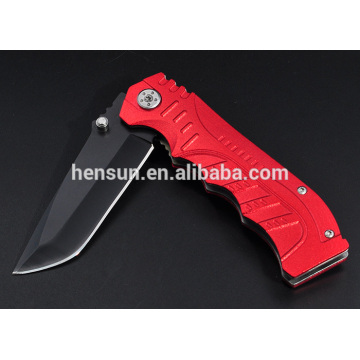 Red Handle Assisted Opening Tactical Pocket Folding Knife