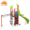 Green Slide Simple Kids Equipment For Sale