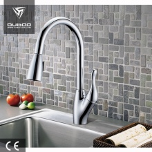 Rotatable Spout 1-Handle Kitchen Faucet Tap With Spray