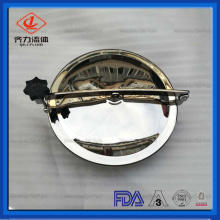 China for Supply Sanitary Clamp Fittings, Sanitary Fittings, Tri Clamp Fittings from China Supplier Stainless Steel Round Tank Manhole Cover supply to Bhutan Factory