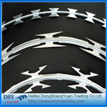 New Galvanized Razor Barbed Wire Razor