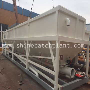 Horizontal Cement Silo for Concrete Batching Plant