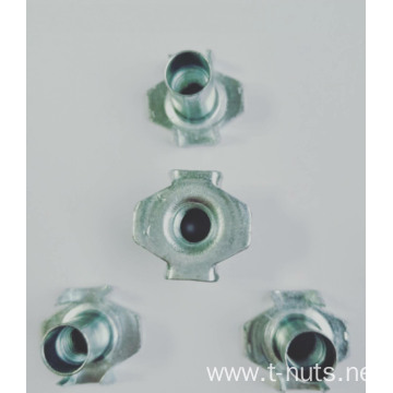 Stampings Carbon steel Zinc Plating Locking Tee Nuts