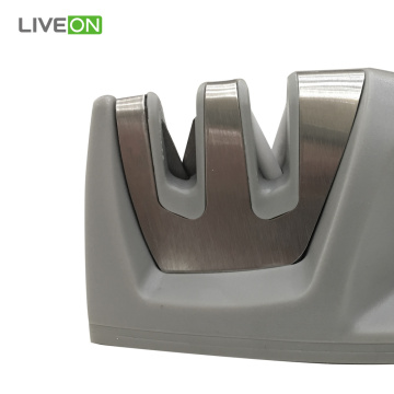 Mini 2 stage Ceramic Kitchen Knife Sharpener