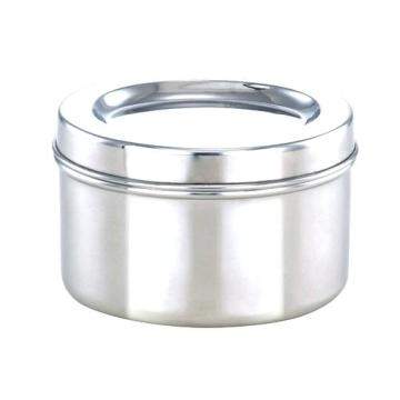 Custom-made stainless steel drawing container