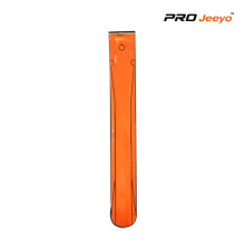 Adjustable PVC Fluo Orange Safety LED light Band