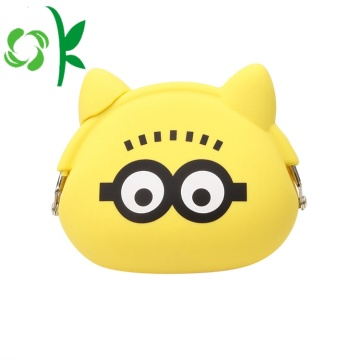 Figure Silicone Purse for Coin Cellphone Cosmetic Bag