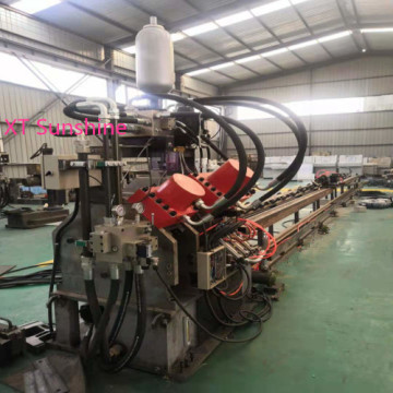 Flat Bar Punching Typing Cutting Line