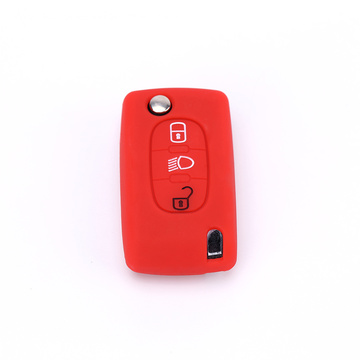Shtojcë e Colorful Citroen Silicone Remote Remote