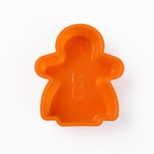 snowman shape silicone cake tools soft