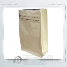 Custom Printed Brown Kraft Paper Bag for Food
