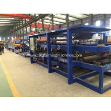 Best Price for China Sandwich Panel Roll Forming Machine,Roof Panel Roll Forming Machine,Hydraulic Panel Roll Forming Machine Manufacturer Fireproof Rock Wool Sandwich Panel Making Machine supply to Iraq Factory