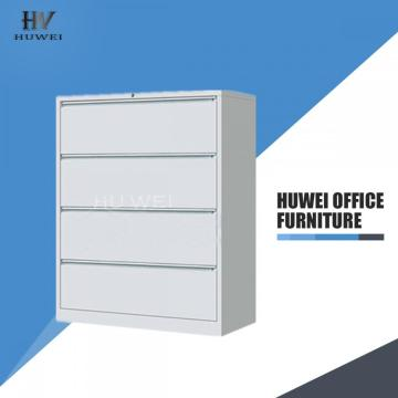 4 Drawers lateral metal storage filing cabinet