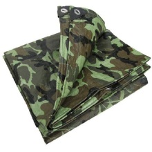 China Factory for China Camouflage Tarp,Army Green Camouflage Tarpaulin,Outdoor Camping Camo Tarpaulin,Ground Tarp Army Camo Tarpaulin Factory Waterproof  Camouflage PE Tarpaulin Cover export to Spain Exporter