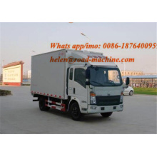 OEM for Cargo Truck 85HP 5 ton Mini Box Cargo Van Truck export to Nepal Factories