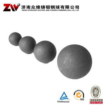 Hot rolling Forged grinding balls for cement 40mm